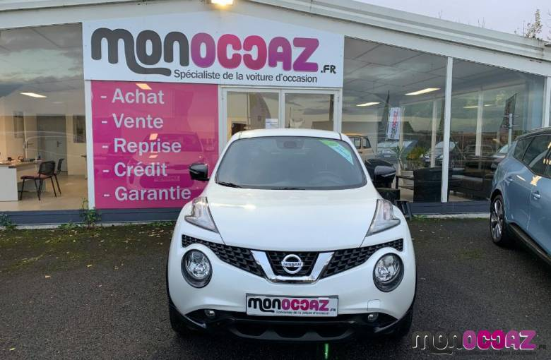 NISSAN Juke 1.5 dCi 110 FAP Start/Stop System  N-Vision - véhicules d'occasion - MonOccaz.fr