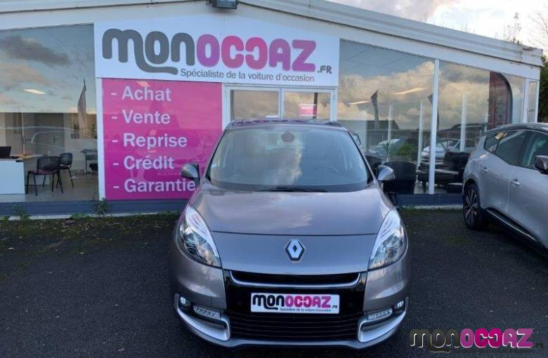 RENAULT Scenic III dCi 130 FAP Energy eco2   - véhicules d'occasion - MonOccaz.fr